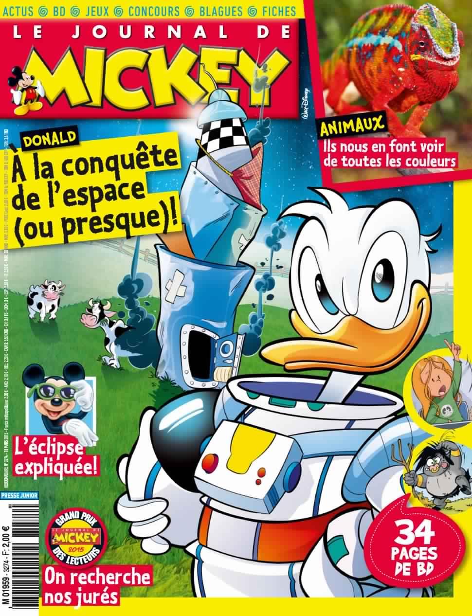 Journal de Mickey : il est nécessaire de proposer de la lecture à vos enfants